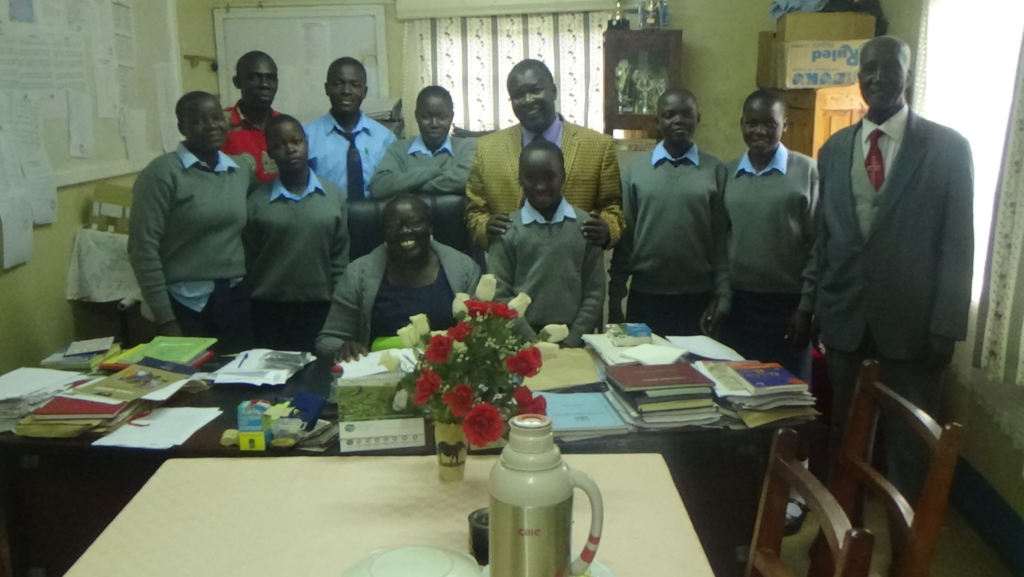 Image of STARS Children Africa high school students